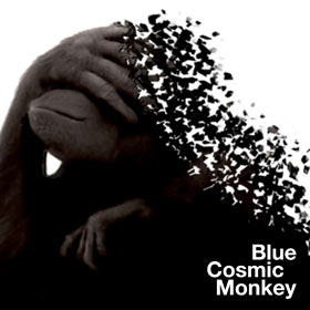 cosmic blue monkey